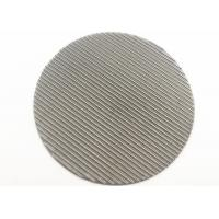 Buy cheap Round Stainless Steel Filter Screen Dutch Weave Wire Net Mesh 60 Micron from wholesalers