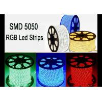 Buy cheap RGB 120 Volt Led Strip Lights, RoHS High Voltage Color Changing Led Strip from wholesalers