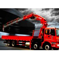 China Fast  Knuckle Boom Truck Mounted Crane For Heavy Things Lifting,16Ton on sale