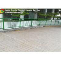 Buy cheap Q235 Wire Mesh Fence 0.1 - 2m Width Concise Grid Structure For Airport / Stadium product