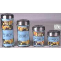 Buy cheap Glass Canister with Stainless Steel Lid (SS1150-1) from wholesalers