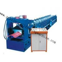 China 7.5Kw Tile Roof Ridge Cap Roll Forming Machine 0.3mm - 0.7mm for Steel Prefab House on sale