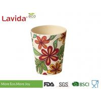 Buy cheap Christmas Design Bamboo Fiber Cup , Shatter Proof Biodegradable Bamboo Eco Mug from wholesalers