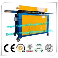 Buy cheap Automatic Electric Wind Tower Production Line , HVAC Duct Pittsburgh Lock Forming Machine from wholesalers