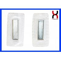 Buy cheap PVC / TPU Cover NdFeB Permanent Rectangle Magnetic Snaps / Buttons F20*10*2MM from wholesalers