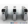 Buy cheap Turnstile Barrier Gate Stainless Steel Security Swing Gate DC Brush Motor 1500mm Sliding Gate Height from wholesalers
