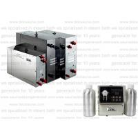 Buy cheap 3kw Residential Steam Bath Generator 110V with single phase for steam shower product