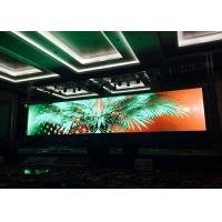 Buy cheap HD Indoor LED Video Wall 5x5 / Custom RGB LED Display Board For Exhibition Shows from wholesalers