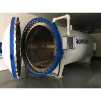 Buy cheap 3M Length CE Composite Autoclave For Carbon Fiber / Rubber Curing And Treatment product