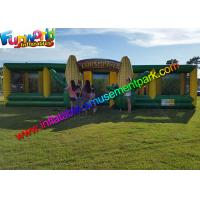 Buy cheap EN71 Awasome Sports Games Inflatable Corn Laser Maze  With Digital Painting Farm from wholesalers