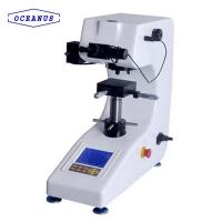 Buy cheap HVS-1000 Big screen Digital Micro Hardness tester with Manual turret for Metal, Nonferrous metal and Glass product