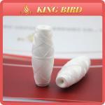 Buy cheap High Tenacity Raw White Cocoon Bobbin Thread Yarn for Schiffli Machine from wholesalers
