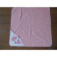 Buy cheap cotton baby towels,pink hooded towel,terry baby bath towel from wholesalers