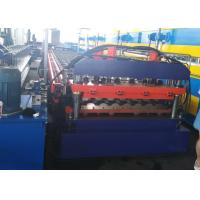 Buy cheap PLC Control Roof Panel Roll Forming Machine With 0-15m/min High Speed from wholesalers