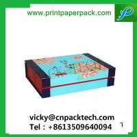 Buy cheap Bespoke Fashion Cmyk Printing Packing Paper Shoulder Gift Box with Foam Insert from wholesalers