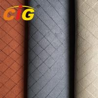 Buy cheap 150cm Width 115gsm 100% Polyester Suede Fabric For Car Seat Cover from wholesalers