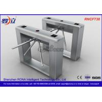 Buy cheap Biometric Recognition Tripod Turnstile With Remote Button Control , CE Approval from wholesalers
