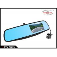 Buy cheap Full HD Car Rear Mirror Front and Rear DVR Rear Mirror  With Dual Cameras 1080P 720P Driving Video Recorder product