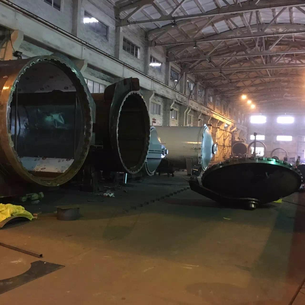 Buy cheap Rubber Vulcanizing Autoclave With Safety Interlock , Automatic Control High Temperature And Low Pressure product