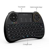 Buy cheap Colorful Backlit H9 Mini Wireless Keyboard And Mouse With Touchpad / TV Box / PC from wholesalers