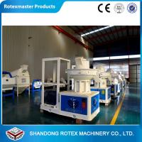 Buy cheap CE Certificate Ring Die Saw dust Pellet Making Machine , wood pellets maker from wholesalers