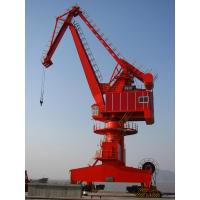 Buy cheap Rail Mounted Steel Portal Jib Crane For Loading And Discharging Cargo from wholesalers