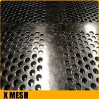 China Customize Round Holes slotted hole stainless steel perforated sheets with 1524mm width on sale