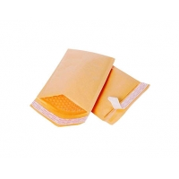 Buy cheap Hot Melt Adhesive 400gsm Kraft Paper Envelope 110*220mm product