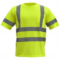 Reflective safety t shirt popular reflective safety t shirt for Hi vis t shirt printing