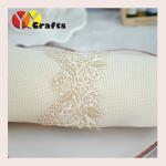 Buy cheap White Rose Flower Bulk Napkin Ring Laser Cut Wedding Supplies from wholesalers