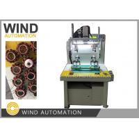 Buy cheap External rotor motor Stator 2, 4 and 6Poles Winding Machine For Out Runner Single Phase 3 Phase Fan Motor from wholesalers