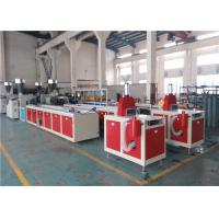Buy cheap ABB Inverter PVC Ceiling Panel Extrusion Machine , New PVC Sheet Extrusion Line from wholesalers