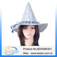 Buy cheap Custom oktoberfest  hat wholesale alpine hat halloween hat for adults from wholesalers