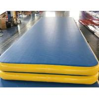 Buy cheap 0.9mm Thickness Gymnastics Air Mat , Inflatable Air Track For Physical Training from wholesalers