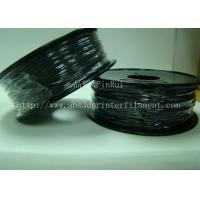 Buy cheap Customized High Rigidity ABS Conductive 1.75MM/3.0MM 3D Printing Filament Black Plastic strip from wholesalers