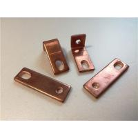 Buy cheap Thick Bended Pure Copper Sheet Metal Bending Dies One Fixed Hole / Adjustable Hole from wholesalers