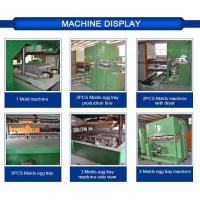 Buy cheap Egg Tray Mould Pulp Tray Machine With Plc Cabinet , 2 Years Guarantee from wholesalers