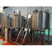 Buy cheap Semi Automatic 500L Small Microbrewery Machine For Brewpub Or Restaurant from wholesalers