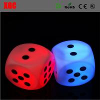 Buy cheap LED Glow Dice Game Toy For Party Fun Adult Couple Novelty Gift Casino Dice Lucky Game Bar Pub LED Light Sign Set for Boa from wholesalers
