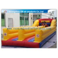 Buy cheap Outdoor Kids Match Inflatable Sports Games , Inflatable Bungee Run with Two Lines product