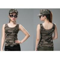 Buy cheap Comfortable Army Military Dress Uniforms , Sex Womens Camo Vest from wholesalers