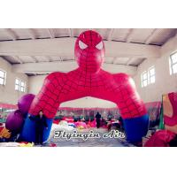 Buy cheap Customized Inflatable Cartoon Arch, inflatable Spider-man Archway from wholesalers