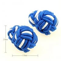 Buy cheap 2014 New Arrival Colorful Silk Knot Cufflinks from wholesalers
