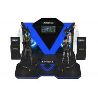 Buy cheap 360 View Interactive VR Kat Walk , 9D VR Walking Machine For Multi Players product