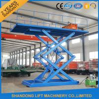 China 3T 4.5M Hydraulic Mini Vehicle Scissor Car Lift Auto Lift For Parking on sale