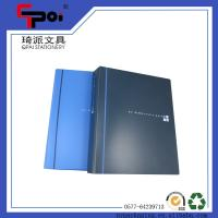 Buy cheap Filling Products PP File Folder A4 Bule 2 Ring Binder Document Folder Ring Binders from wholesalers