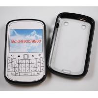 Buy cheap Flexible TPU+PC protective case for smartphone Black berry 9900/9930/BOID from wholesalers