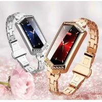 Buy cheap Lady smart watch B78 sport bluetooth Blood pressure Calorie facebook Reminding stainless steel smart bracelet for women from wholesalers