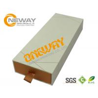 Buy cheap Luxury Sliding Rigid Paper Custom Printed Gift Boxes with Foam Insert from wholesalers