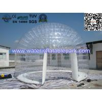 Buy cheap 0.8mm Transparent PVC Inflatable Bubble Tent / Airtight Clear Dome Tent For Party from wholesalers